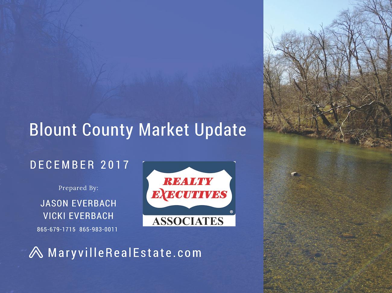 December 2017 Blount County Market Update