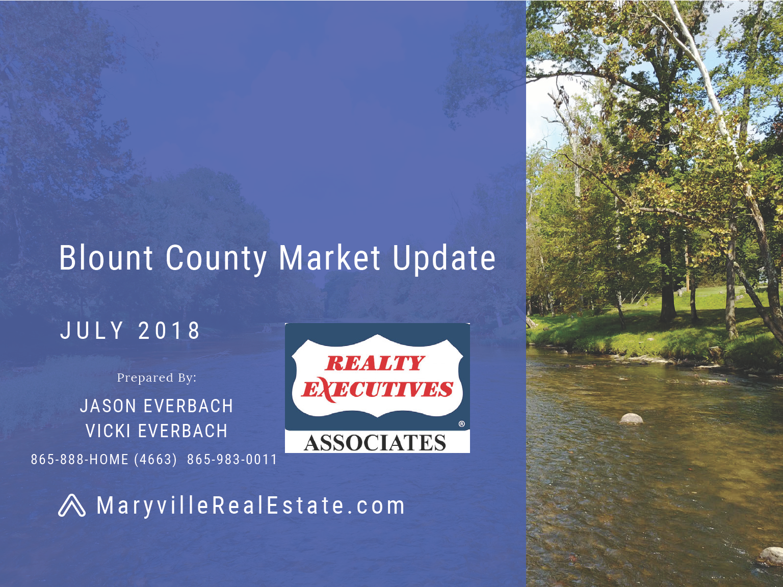 July 2018 Blount County Market Update