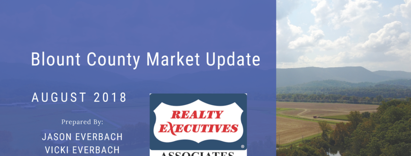 August 2018 Blount County Market Update