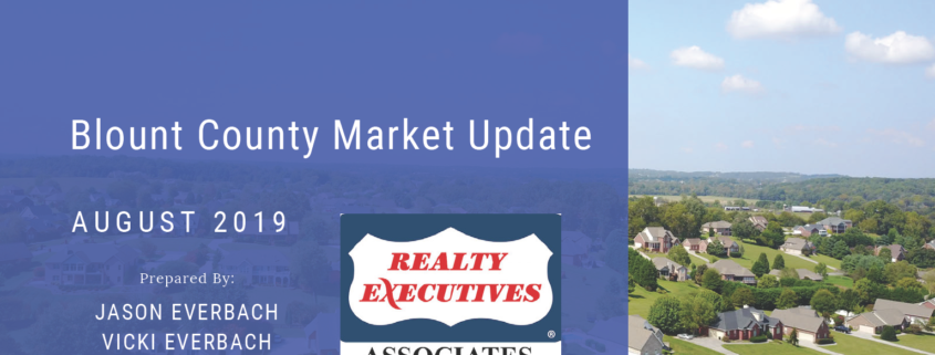 August 2019 Blount County Maryville Real Estate Market Update