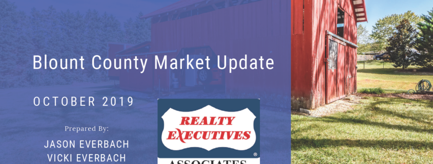 October 2019 Blount County Real Estate Market Update