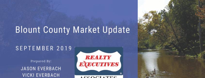 September 2019 Blount County Maryville Real Estate Market Update