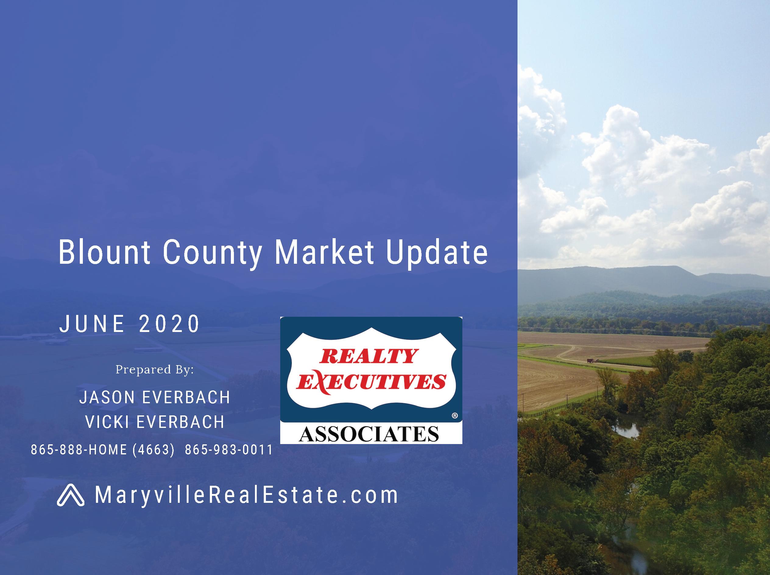 June 2020 Blount County Market Update
