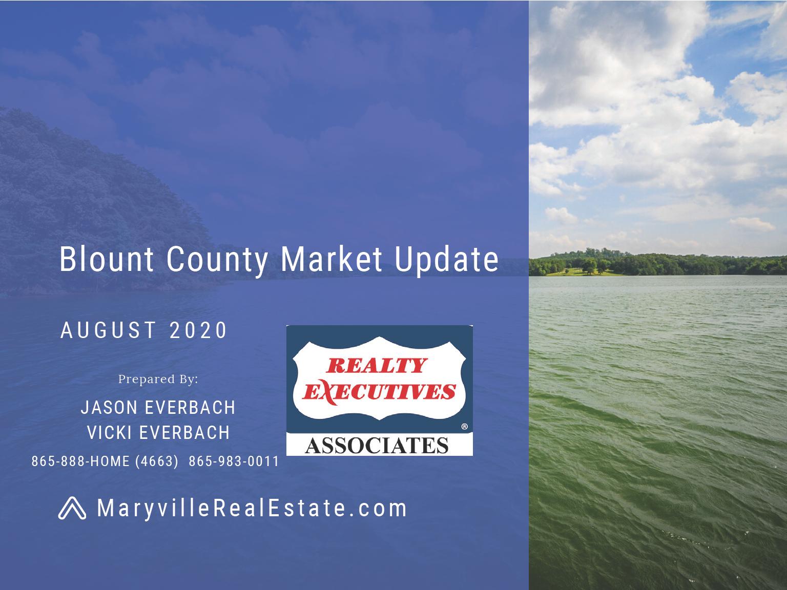 August 2020 Blount County Market Update