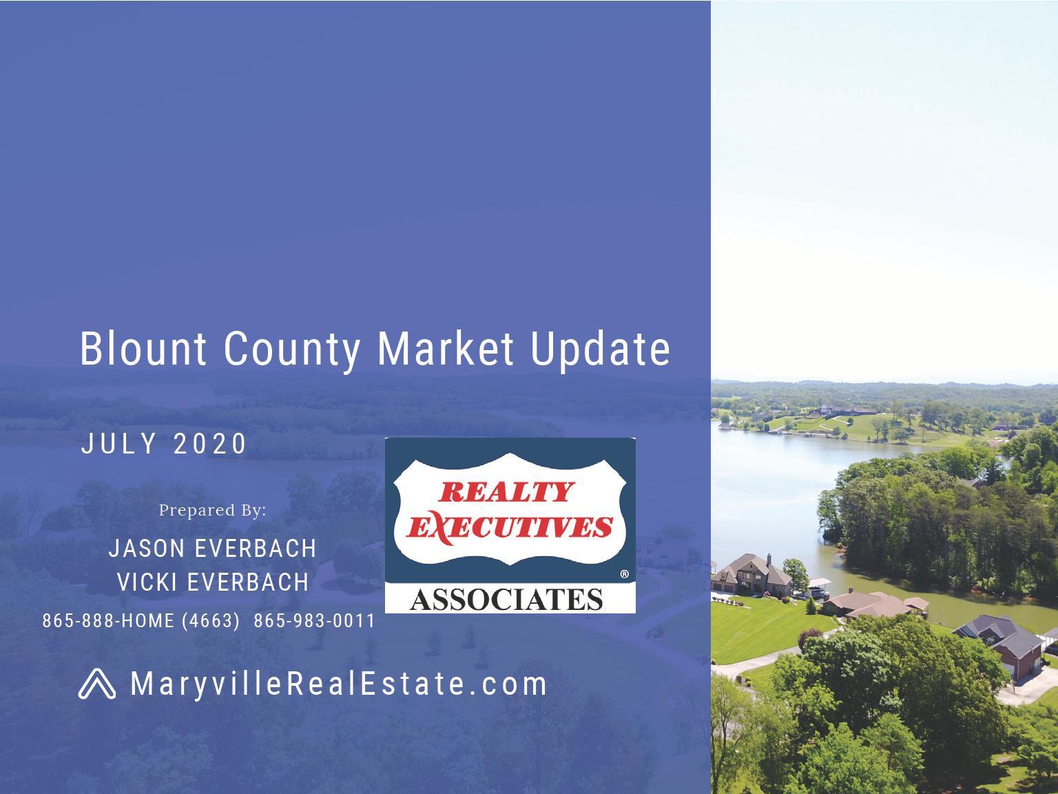 July 2020 Blount County Market Update