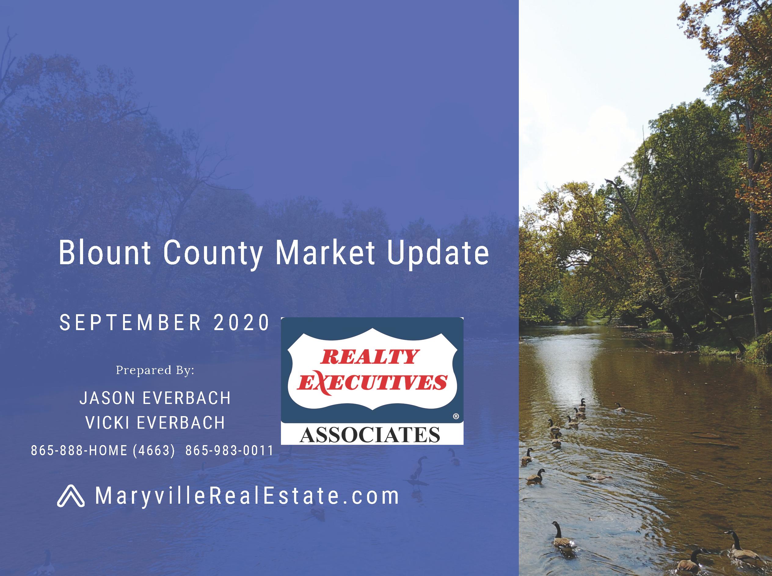 September 2020 Blount County Market Update
